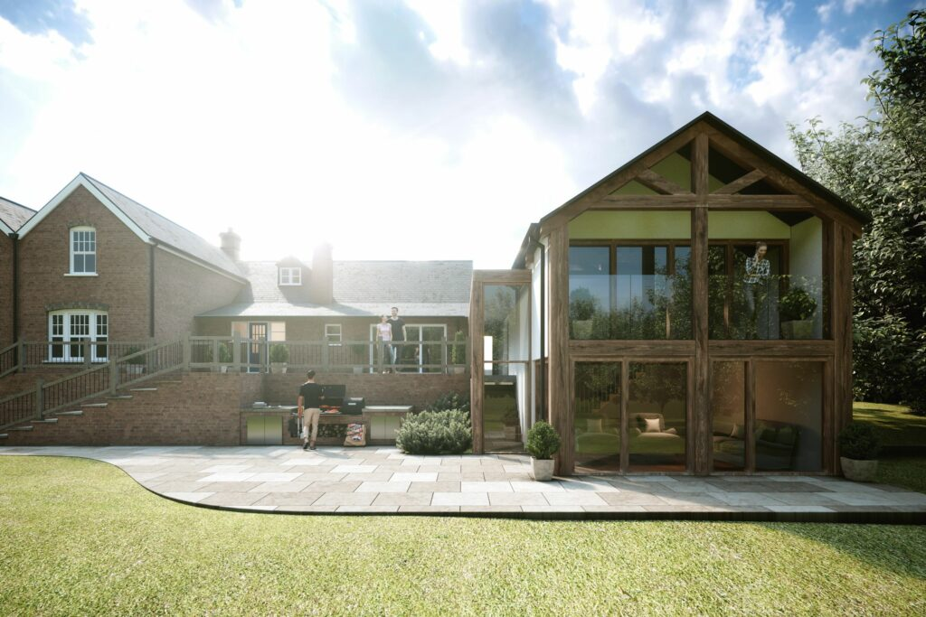 Simon Foote Architects Derby extension in Berkshire