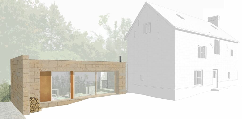 Simon Foote Architects Derby grade II listed building extension