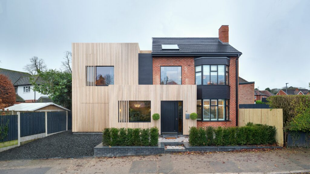 Simon Foote Architects Derby contemporary extension and alterations