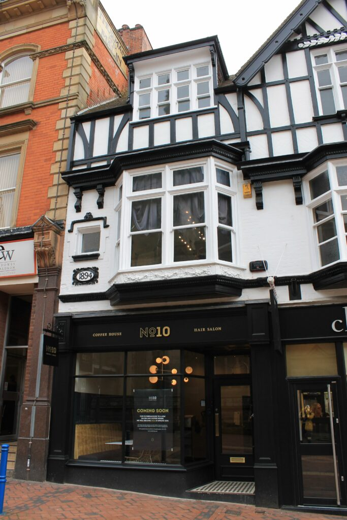 Simon Foote Architects Derby shop front restoration conservation area