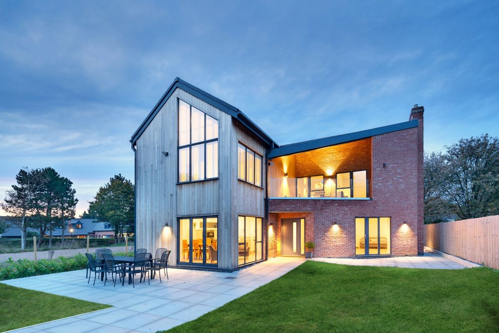 Simon Foote Architects Derby Sustainable eco-house in Derbyshire