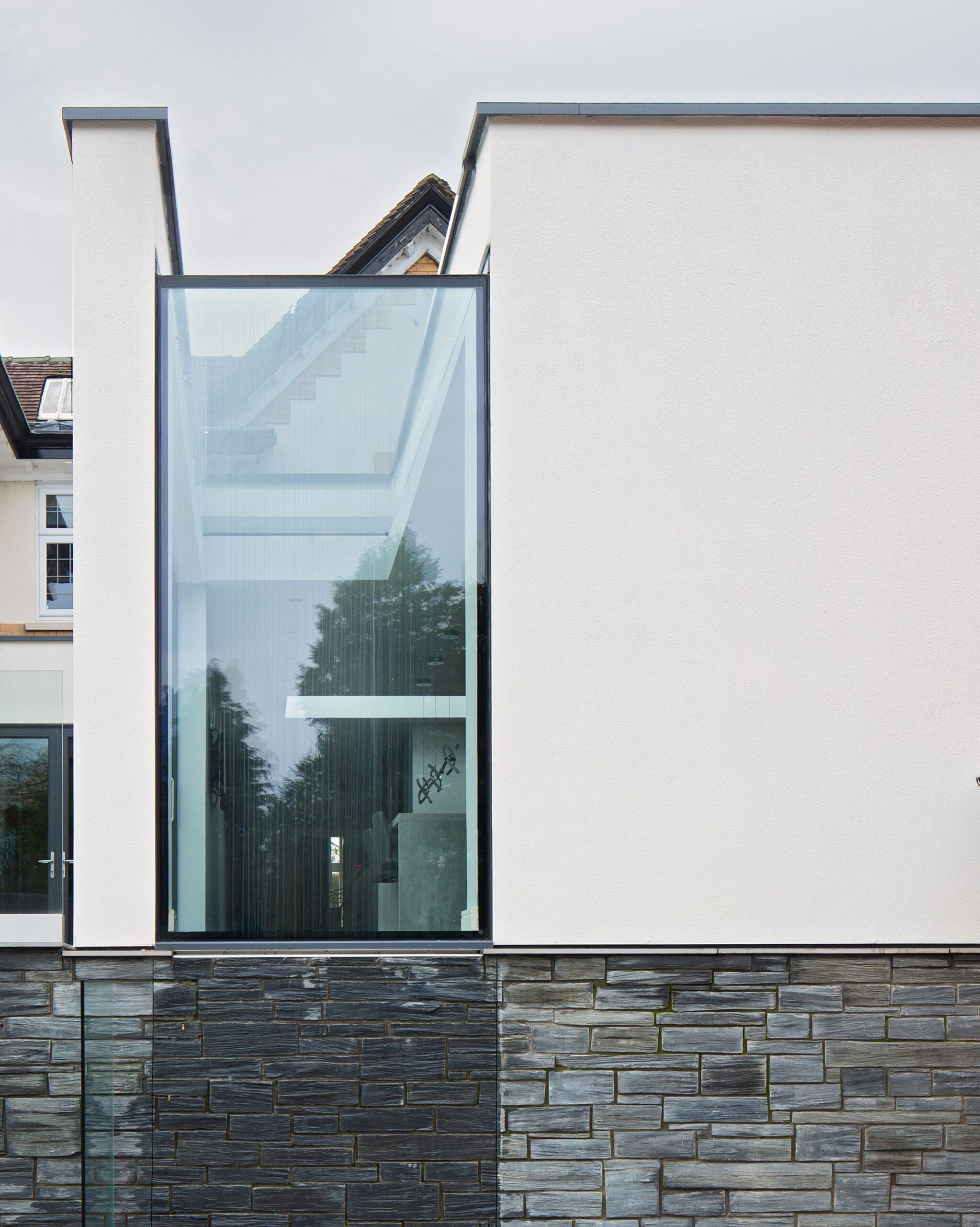 Simon Foote Architects Derby Large glazed extension